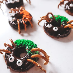 Halloween healthy donut recipe