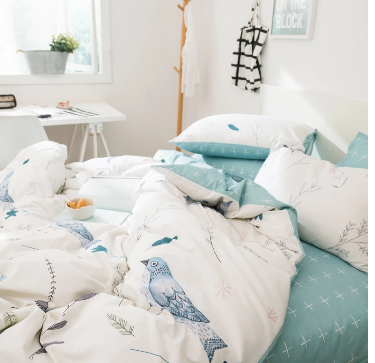 Set de Cama Flower Bird