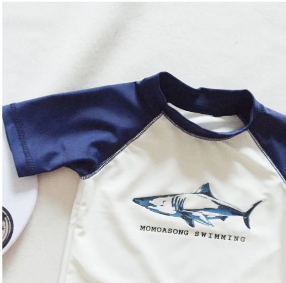 Traje Baño Boy Surf Shark