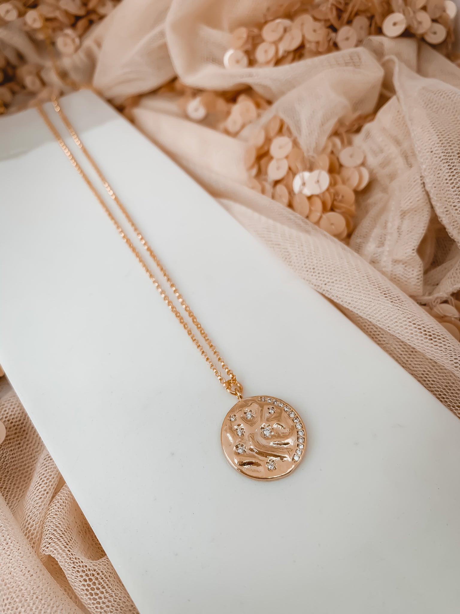 Coast Coin Necklace