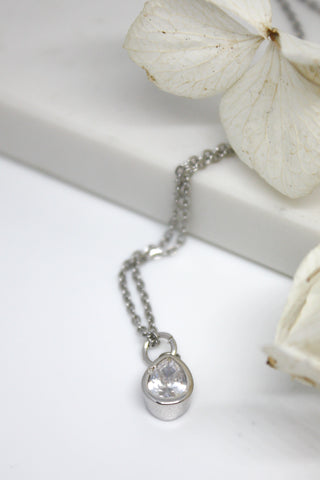 Canyon Necklace White Gold