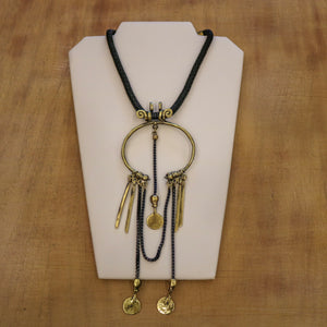 SERAGLIO Bronze Shackle Necklace - on white background