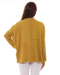 BOHEMIAN FASHIONS Cotton Jumper - mustard