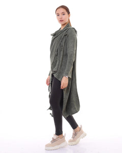 BOHEMIAN FASHIONS Duster Cardigan (side view)