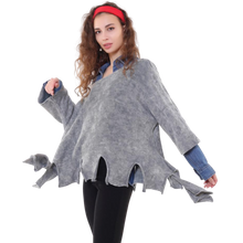 Load image into Gallery viewer, BOHEMIAN FASHIONS Wild Lounge Jumper - blue-grey