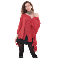 Load image into Gallery viewer, BOHEMIAN FASHIONS Wild Lounge Jumper - burgundy