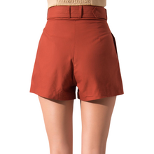 Load image into Gallery viewer, BSL Brick Belted Shorts - back