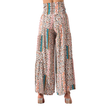 Load image into Gallery viewer, BSL Wide Leg Trousers- beige (back)