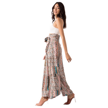 Load image into Gallery viewer, BSL Wide Leg Trousers - beige (side view)