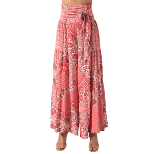 BSL Wide Leg Trousers - pink