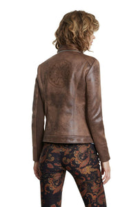 Back of DESIGUAL Biker Jacket