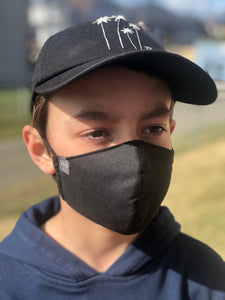 Child wearing Jak's Protective Mask