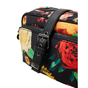 DESIGUAL Floral Sling Bag - buckle view