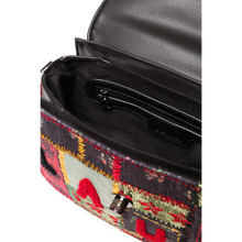 Load image into Gallery viewer, DESIGUAL Patchwork Crossbody Purse inside look