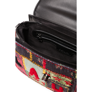 DESIGUAL Patchwork Crossbody Purse inside look
