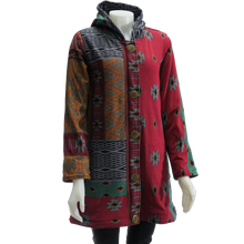 Load image into Gallery viewer, LEOPARDS & ROSES Ethnic Hoodie