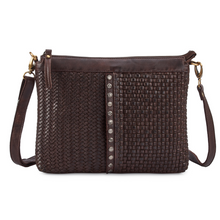 Load image into Gallery viewer, MILO Leather Crossbody Purse - Front view