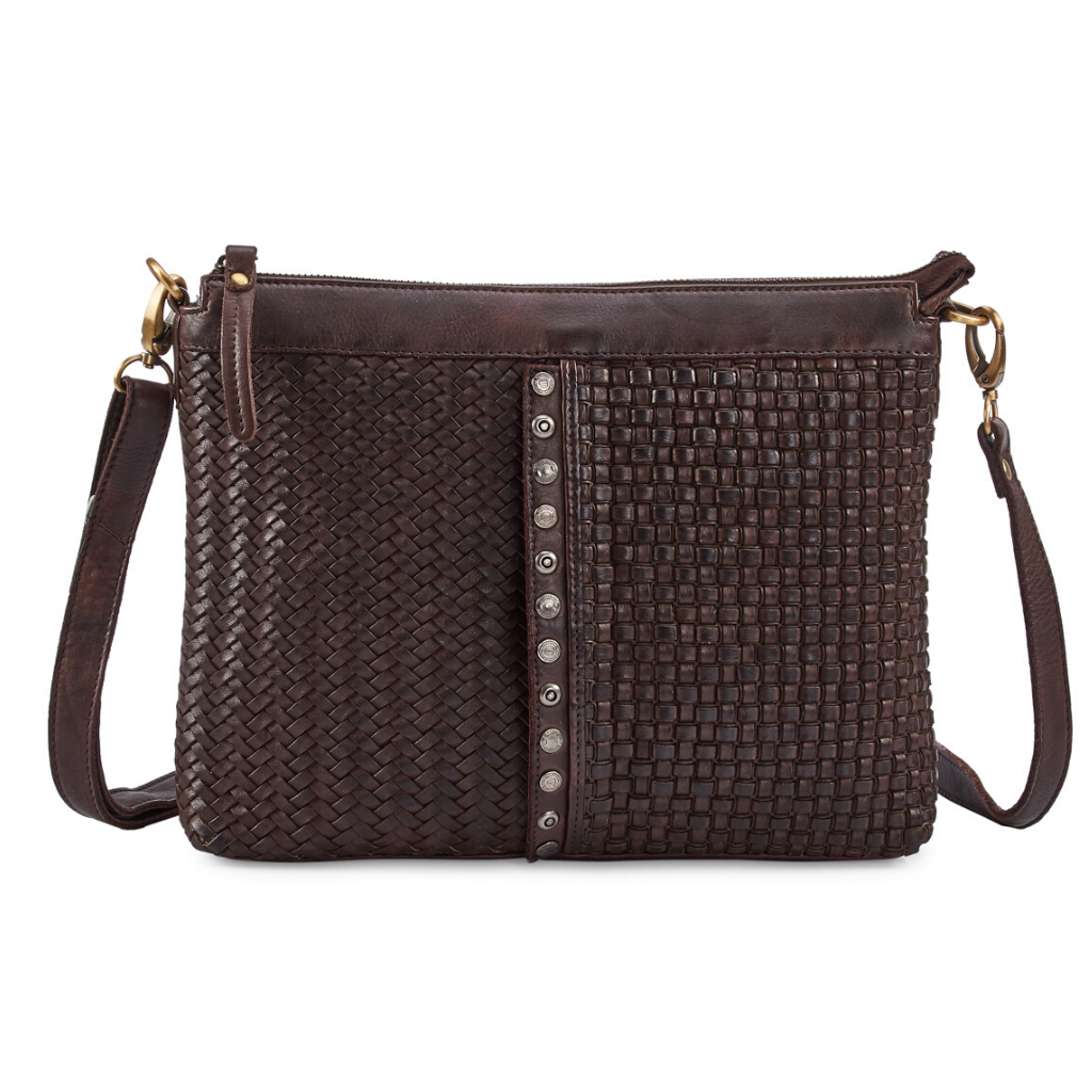 MILO Leather Crossbody Purse - Front view