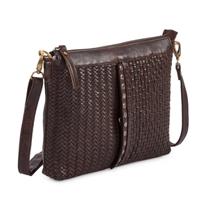 MILO Leather Crossbody Purse - side view