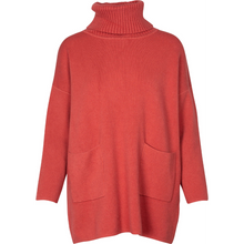 Load image into Gallery viewer, OWN IT Turtle Neck Sweater - ruggine