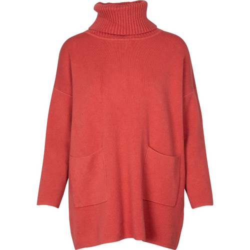 OWN IT Turtle Neck Sweater - ruggine