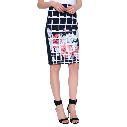 PICADILLY Pull-on Pencil Skirt