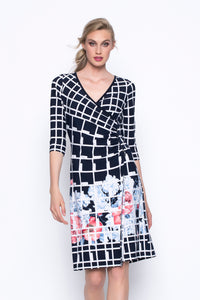 PICADILLY Flared Wrap Dress
