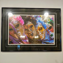 Load image into Gallery viewer, Venetian Masquerade - framed