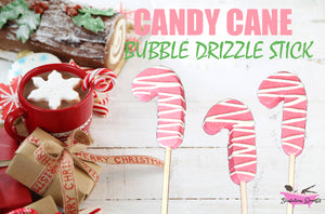 Candy Cane - Bubble Drizzle Stick