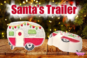 Santa's Trailer - Holiday Bath Bomb