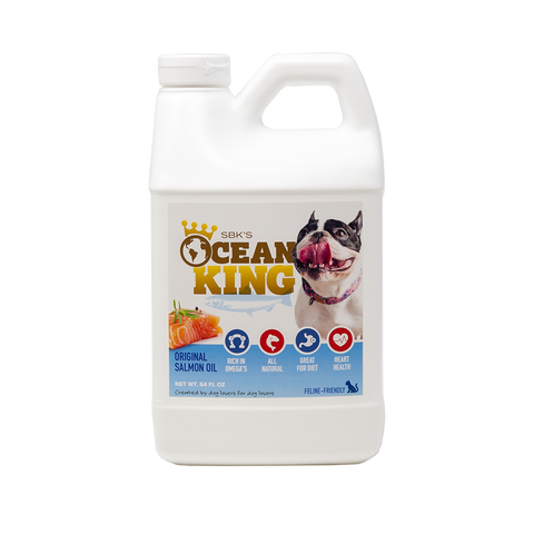 Image of SBK'S OCEAN KING Original Salmon Oil- Half Gallon - GOLD CLUB CANINE GROUP LLC