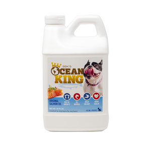 SBK'S OCEAN KING Original Salmon Oil- Half Gallon - GOLD CLUB CANINE GROUP LLC