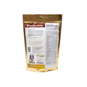 SBK'S GOLD DUST All Natural Performance Dog Recipe- 180 Servings - GOLD CLUB CANINE GROUP LLC