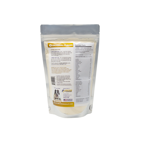 Image of SBK'S GOLD DUST All Natural Performance Dog Recipe- Original-30 Servings - GOLD CLUB CANINE GROUP LLC