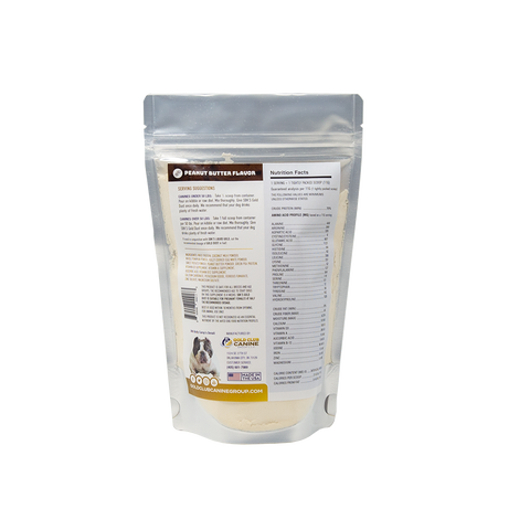 Image of SBK'S GOLD DUST All Natural Performance Dog Recipe- Peanut Butter Flavor-30 Servings - GOLD CLUB CANINE GROUP LLC