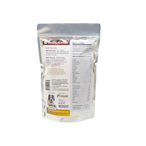 Image of SBK'S GOLD DUST All Natural Performance Dog Recipe- Bacon Flavor- 90 Servings - GOLD CLUB CANINE GROUP LLC
