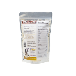 SBK'S GOLD DUST All Natural Performance Dog Recipe- Bacon Flavor- 90 Servings - GOLD CLUB CANINE GROUP LLC