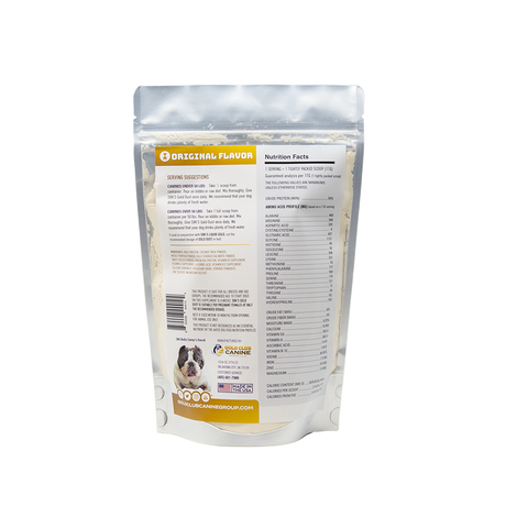 SBK'S GOLD DUST All Natural Performance Dog Recipe- Original- 90 Servings - GOLD CLUB CANINE GROUP LLC