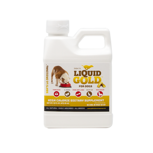 SBK'S LIQUID GOLD FOR DOGS High Calorie Dietary Supplement- 16 oz - GOLD CLUB CANINE GROUP LLC