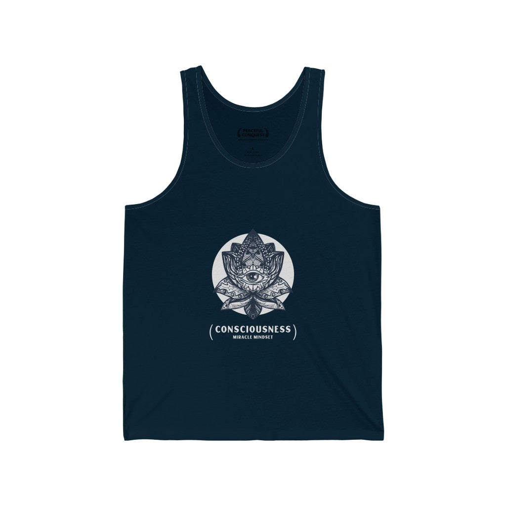 Consciousness Miracle Mindset Tank Top
