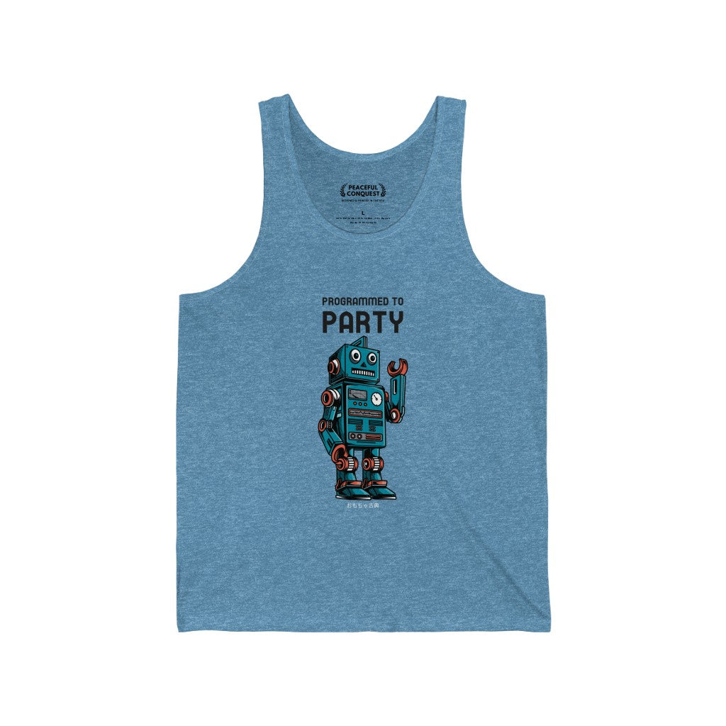Programmed To Party Tank Top