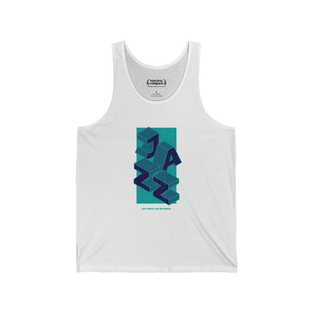 Jazz Best When You Improvise Tank Top