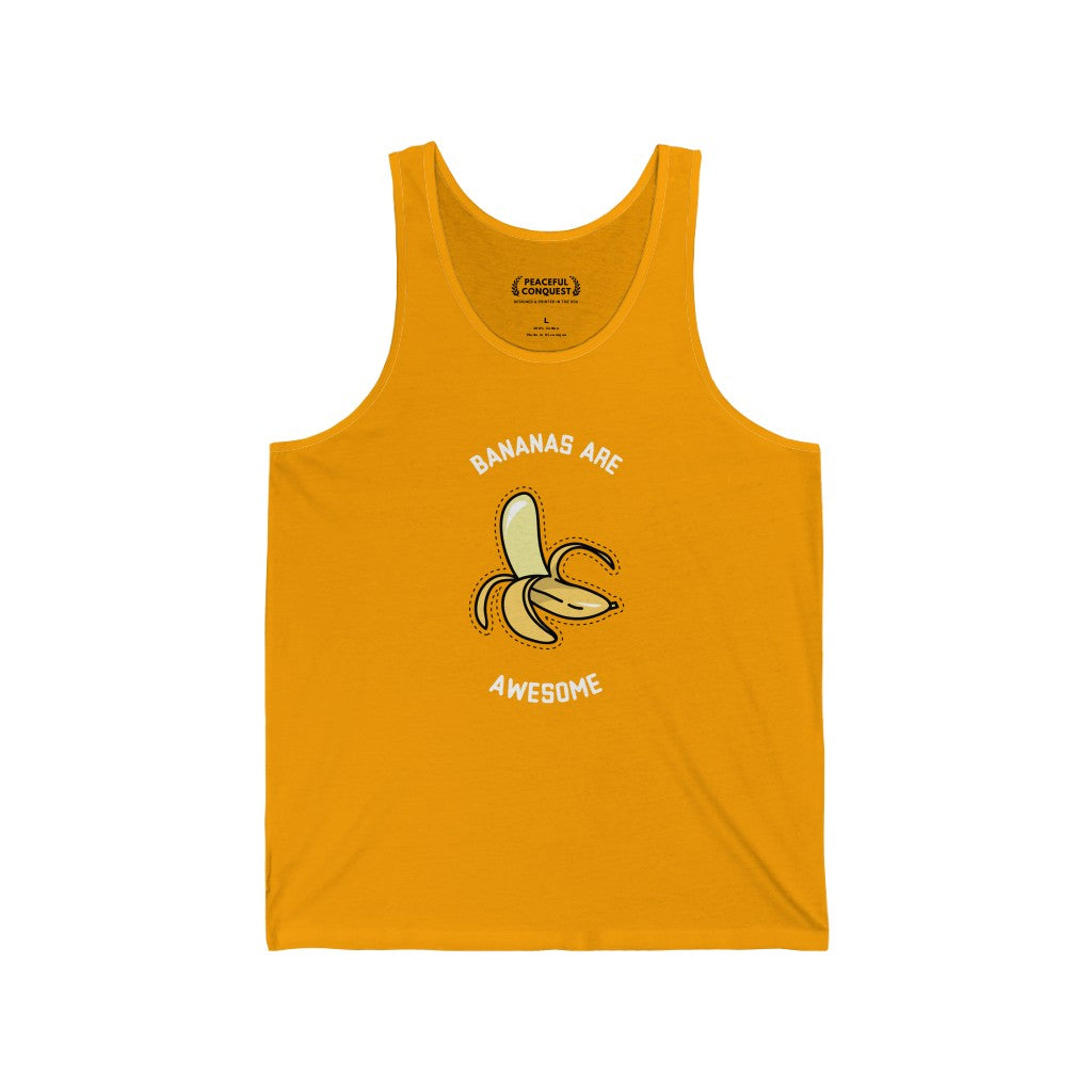 Bananas Are Awesome Tank Top