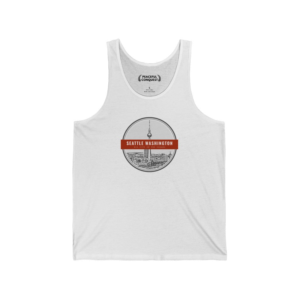 Seattle Washington - The City Of The Dreams Tank Top