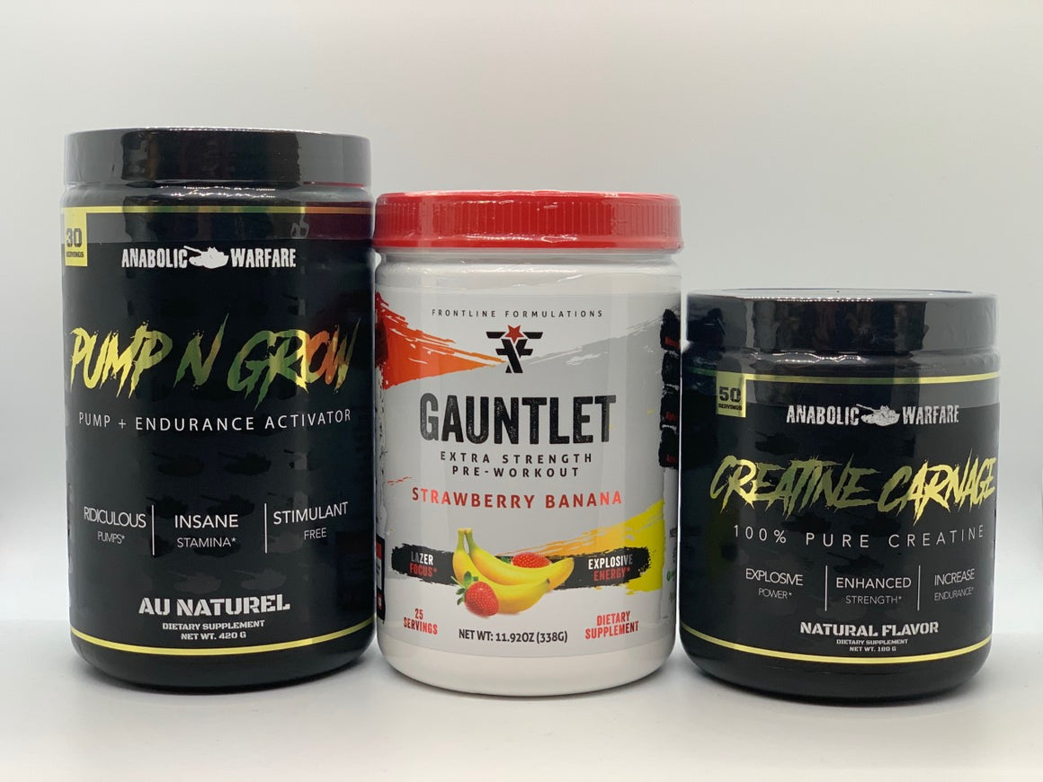 Hardcore Gauntlet Stack (Pre-Workout)