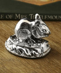 miniature silver mouse
