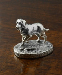 silver dog miniature