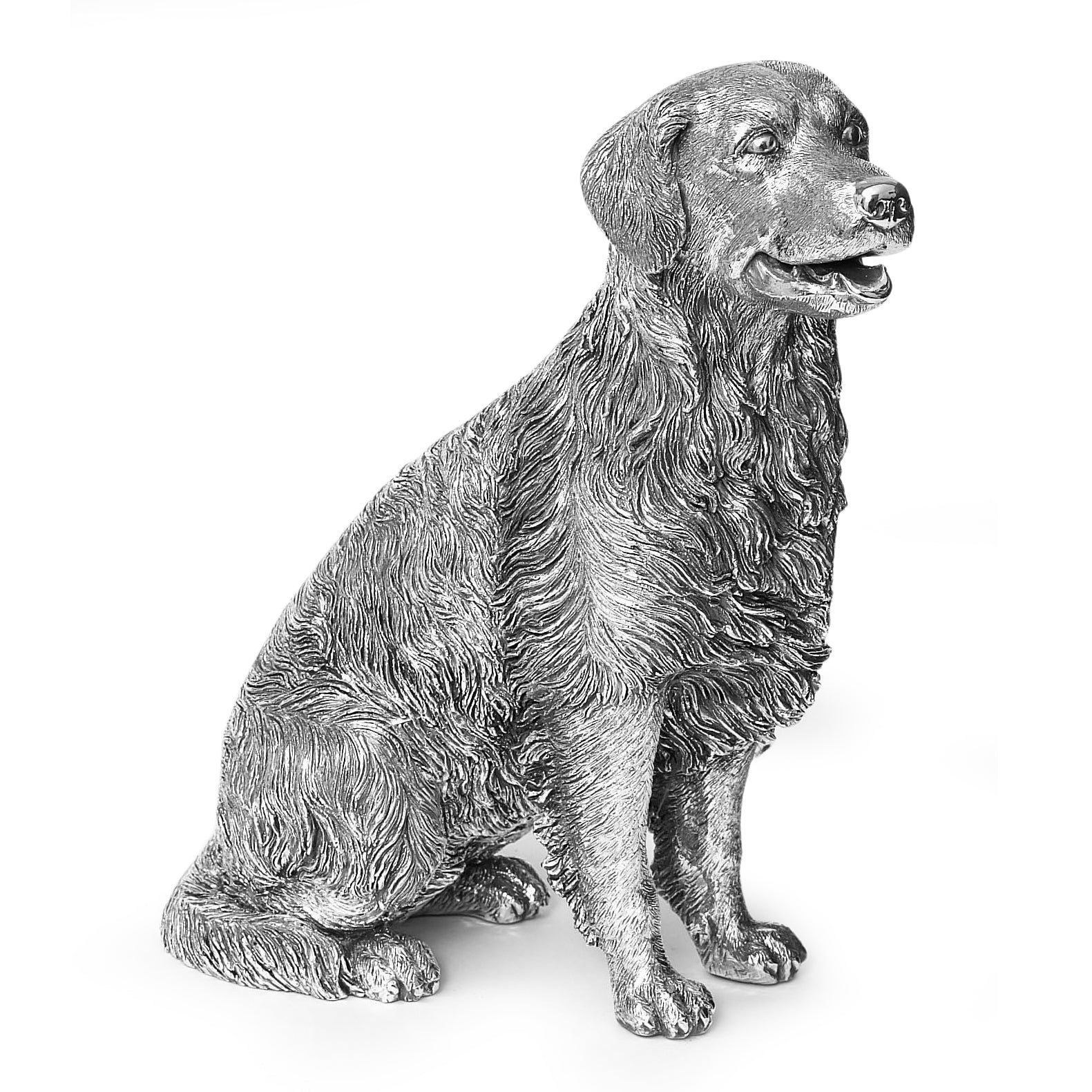 Sterling Silver Retriever - Height 23cm-Silverbasket-Silverbasket