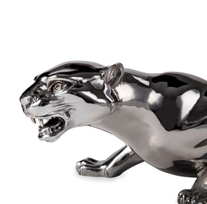 Silver Panther - Height 12.5cm