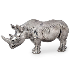 Silver Rhinoceros – Height 6.5cm